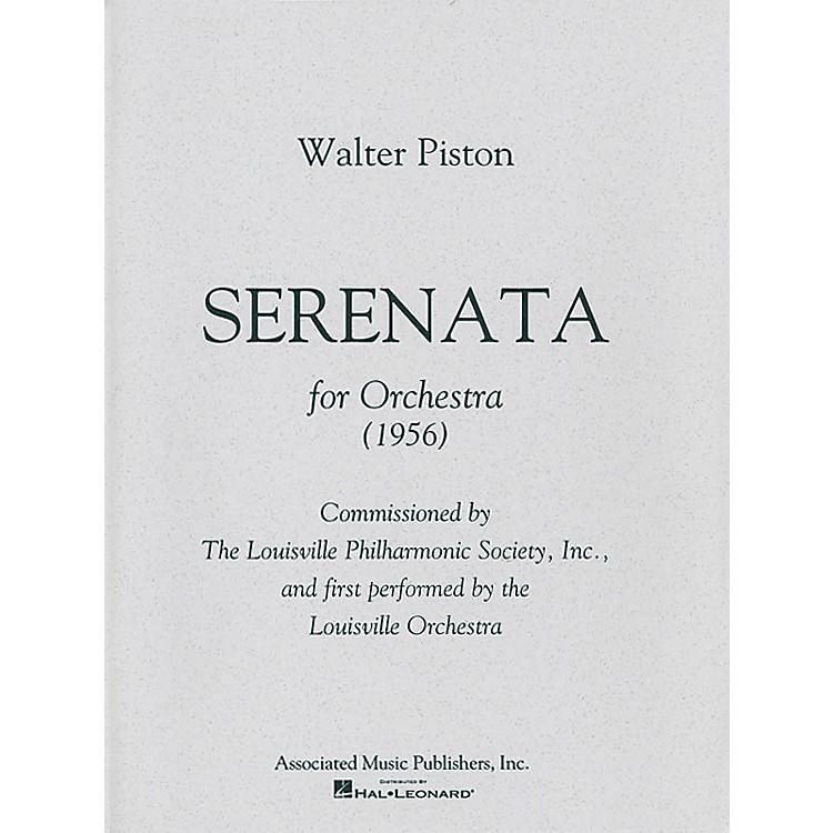 AssociatedSerenata (Full Score) Study Score Series Composed by Walter Piston