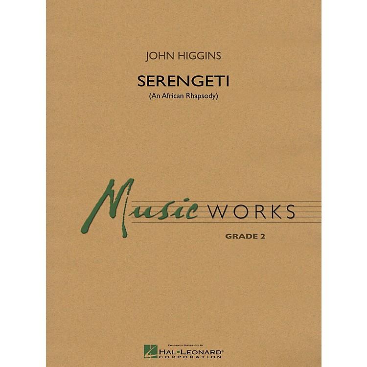 Hal LeonardSerengeti Concert Band Level 2 Composed by John Higgins
