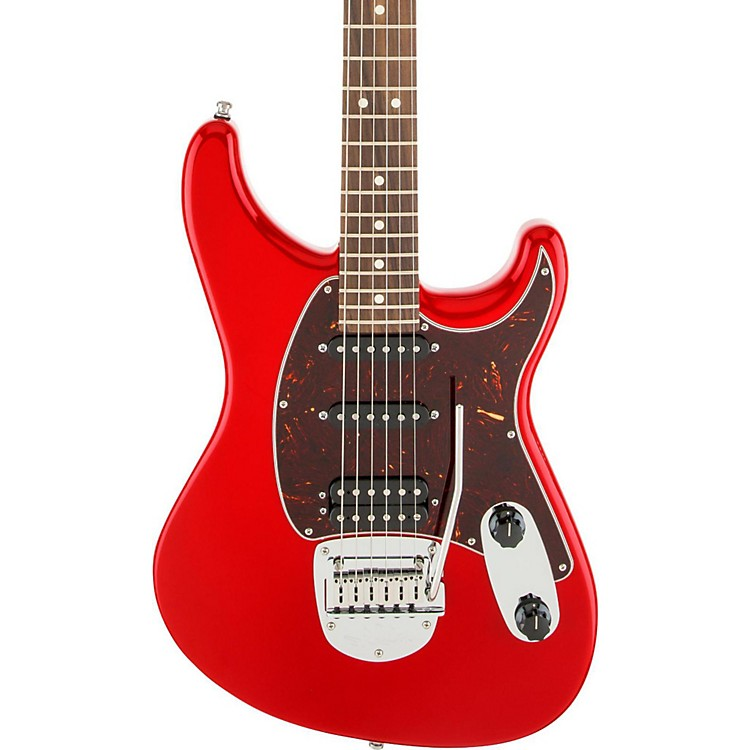 Fender Sergio Vallin Signature Electric Guitar Hot Rod Red Rosewood Fingerboard