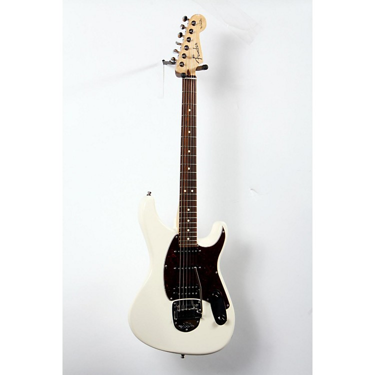 Fender Sergio Vallin Signature Electric Guitar Olympic White, Rosewood 888365714011