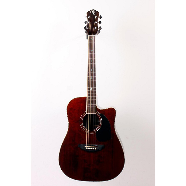 Michael Kelly Series 50 Dreadnought Cutaway Acoustic-Electric Guitar Natural 888365105611