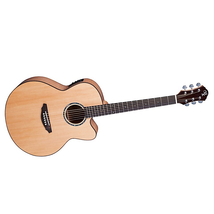 Michael KellySeries 60 Jumbo Solid Top Cutaway Acoustic-Electric Guitar