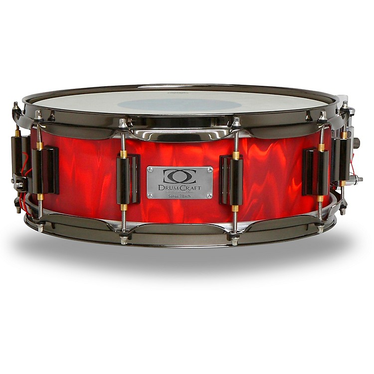 DrumCraft Series 7 Birch Snare Drum 13 x 5 in. Liquid Lava