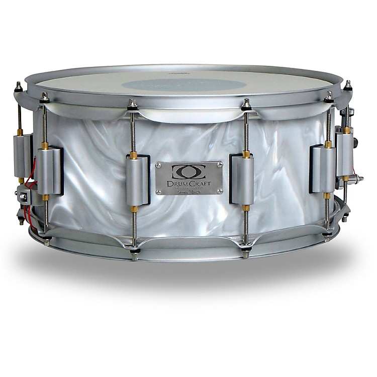 DrumCraft Series 7 Birch Snare Drum 14 x 6.5 in. Liquid Chrome