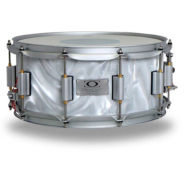 DrumCraft Series 7 Maple Snare Drum 10 x 6 in. Liquid Chrome