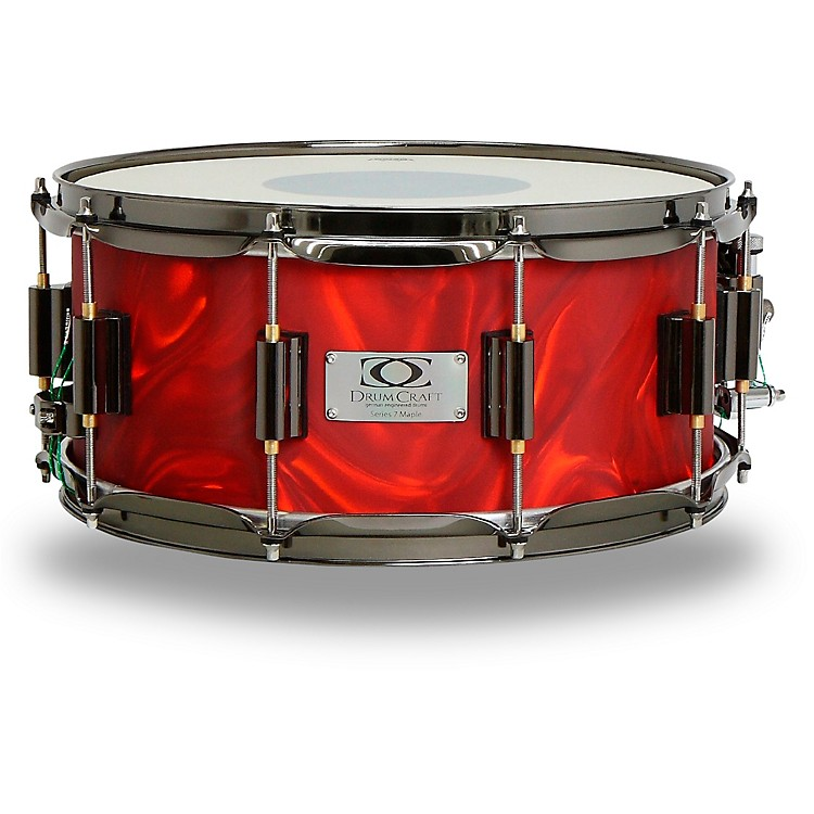 DrumCraft Series 7 Maple Snare Drum 14 x 6.5 in. Liquid Lava