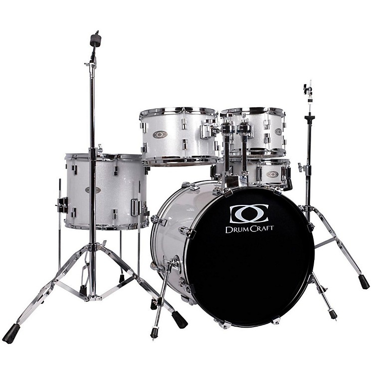 DrumCraft Series Three 5-Piece Fusion Drumset White Noise