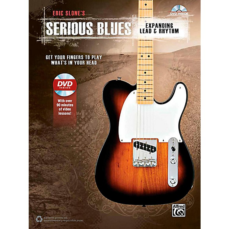 AlfredSerious Blues Expanding Lead & Rhythm Book & DVD