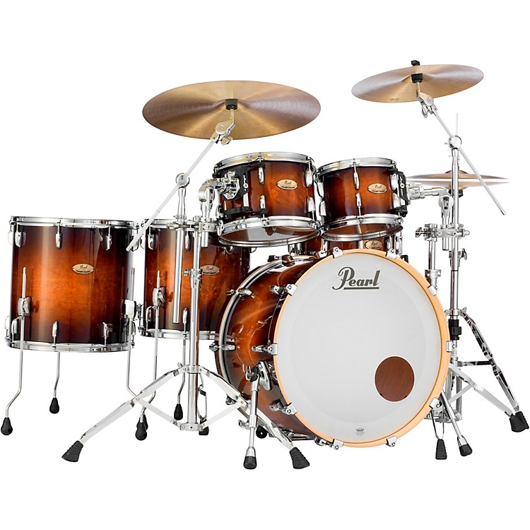 Pearl Session Studio Select Series 5-Piece Shell Pack Gloss Barnwood Brown