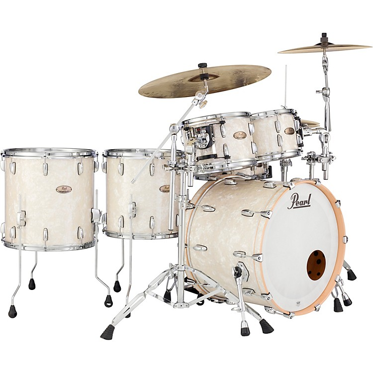 PearlSession Studio Select Series 5-Piece Shell PackNicotine White Marine Pearl (Large)
