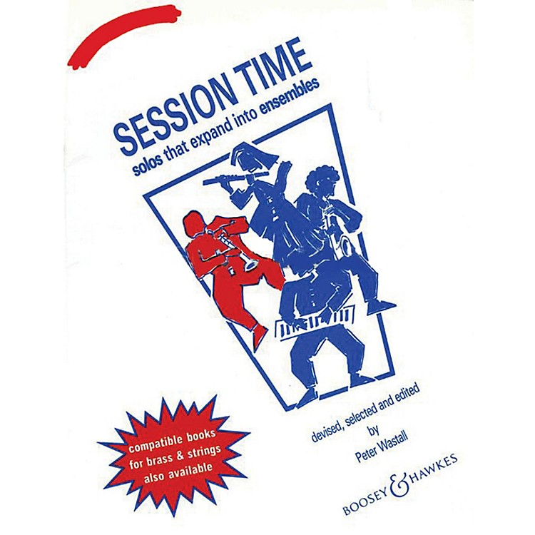 Boosey and HawkesSession Time (Clarinet) Concert Band Composed by Peter Wastall