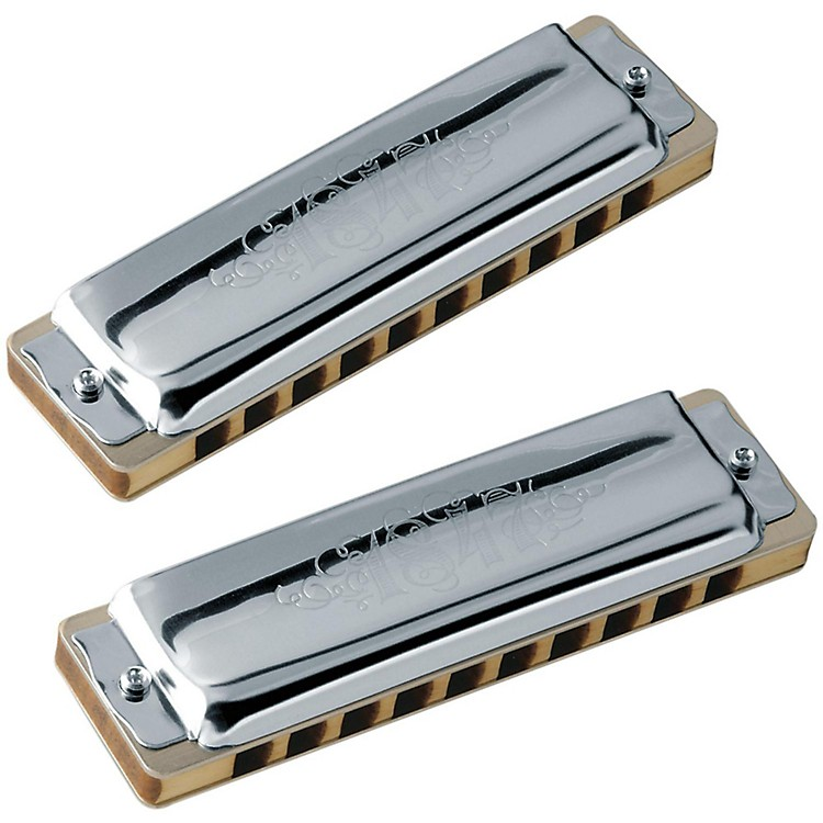 SEYDELSet of 5 - Blues 1847 Harmonicas CLASSIC and Softcase