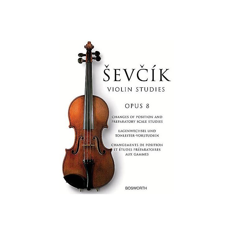 BosworthSevcik Violin Studies - Opus 8 Music Sales America Series Written by Otakar Sevcik