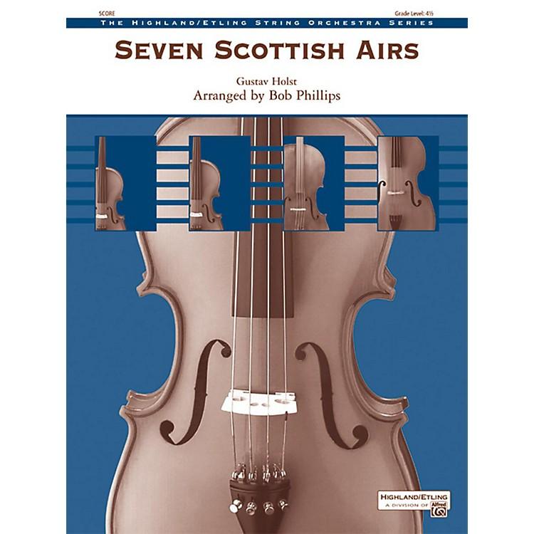 AlfredSeven Scottish Airs Grade 4.5