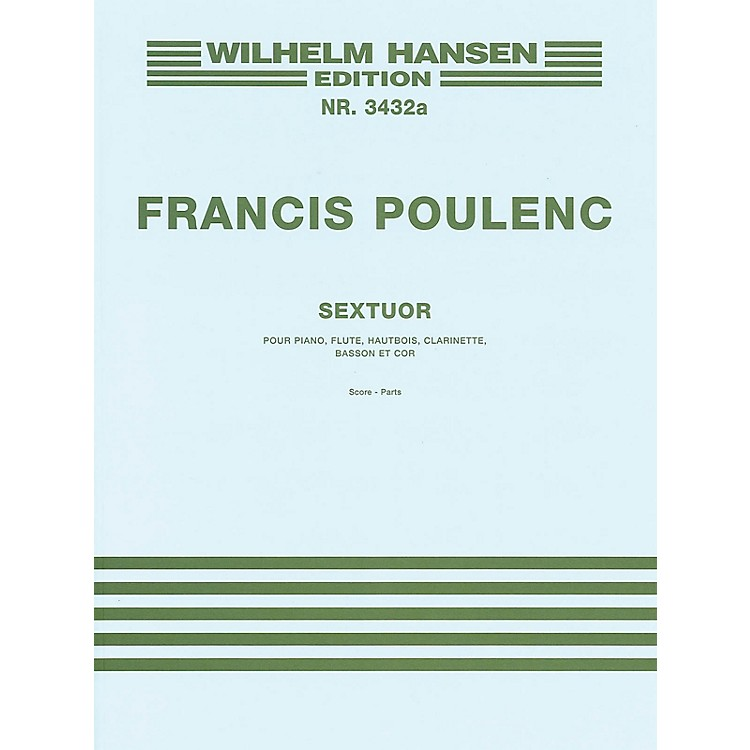 Music SalesSextet Music Sales America Series by Francis Poulenc
