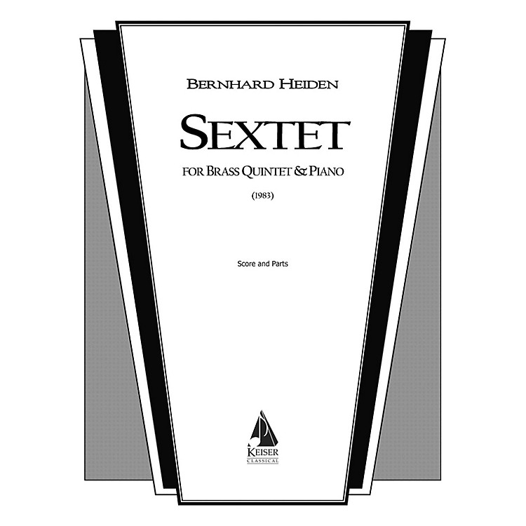 Lauren Keiser Music PublishingSextet (for Brass Quintet and Piano) LKM Music Series by Bernhard Heiden