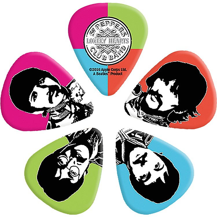 D'Addario Planet WavesSgt. Pepper's Lonely Hearts Club Band 50th Anniversary Guitar Picks.50 mm10 Pack