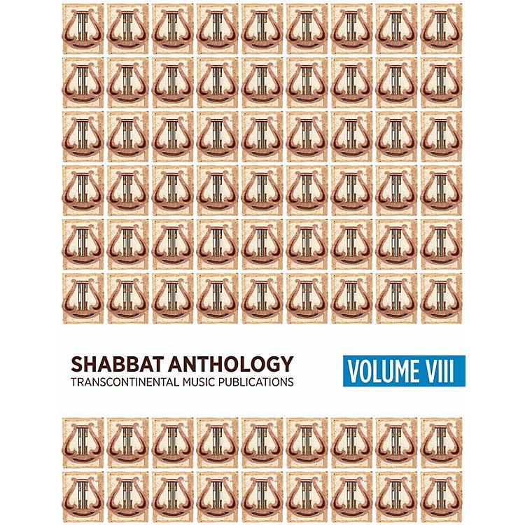 Transcontinental MusicShabbat Anthology VIII Songbook Transcontinental Music Folios Series Softcover