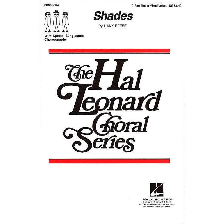 Hal LeonardShades 2-Part composed by Hank Beebe