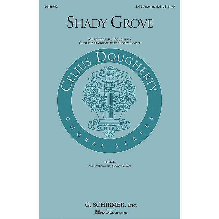 G. SchirmerShady Grove 2-Part Arranged by Audrey Snyder