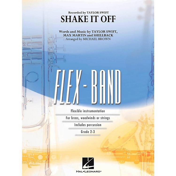 Hal Leonard Shake It Off - FlexBand Concert Band Series Level 2 - 3