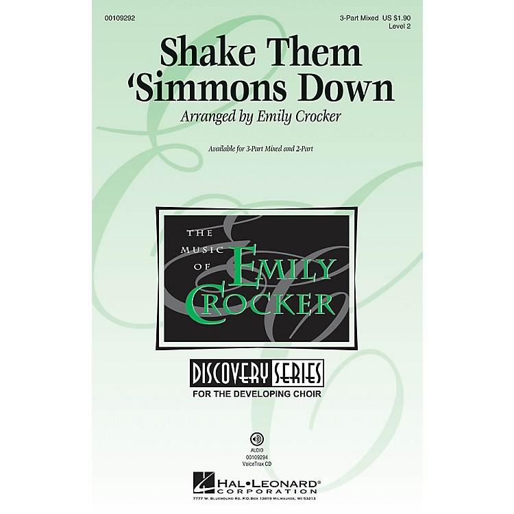 Hal LeonardShake Them 'Simmons Down (Discovery Level 2) VoiceTrax CD Arranged by Emily Crocker