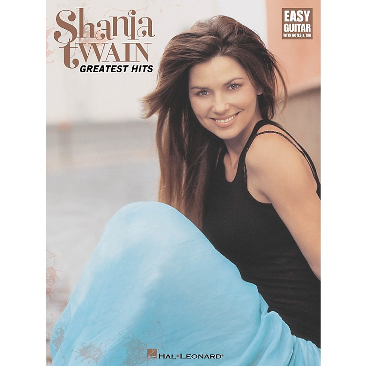 Hal Leonard Shania Twain - Greatest Hits Guitar Tab Book