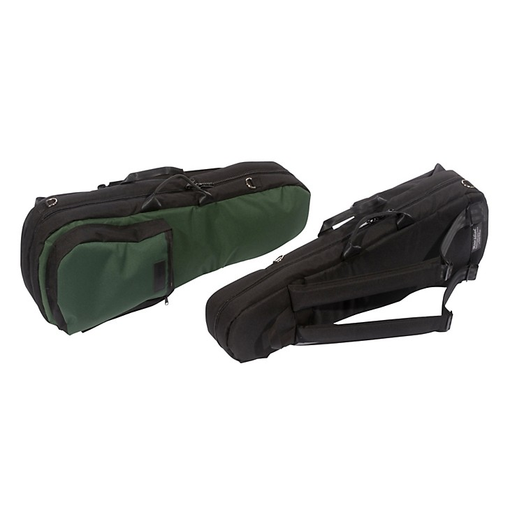 Mooradian Shaped Violin Case Slip-On Cover with Combination Straps Green