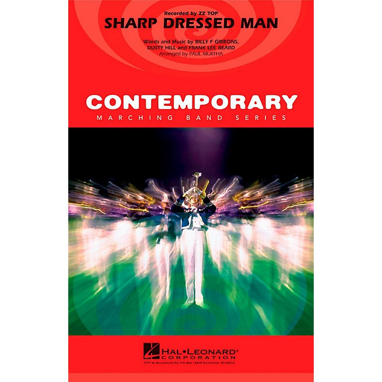 Hal Leonard Sharp Dressed Man - Pep Band/Marching Band Level 3