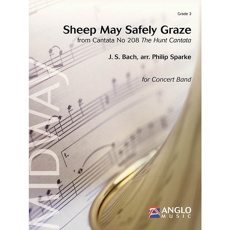 Anglo Music PressSheep May Safely Graze (Grade 3 - Score and Parts) Concert Band Level 3 Arranged by Philip Sparke