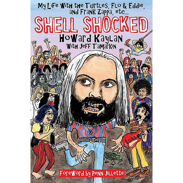 Backbeat BooksShell Shocked Book Series Softcover Written by Howard Kaylan