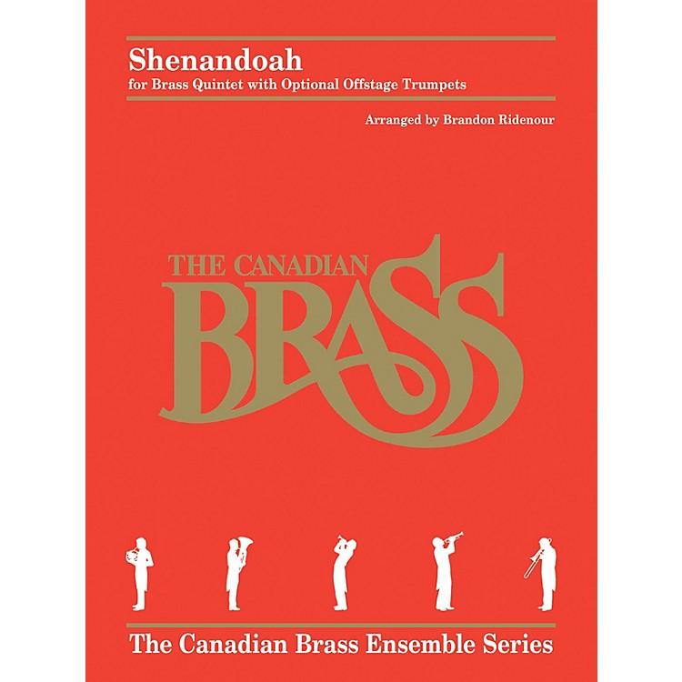 Hal LeonardShenandoah Brass Ensemble Series by Traditional Arranged by Brandon Ridenour