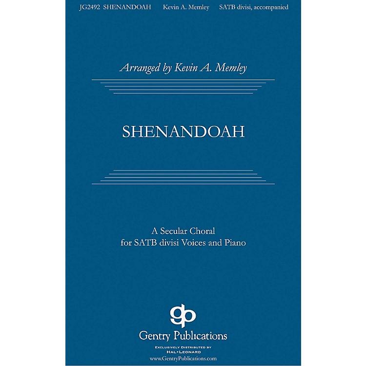 Gentry PublicationsShenandoah SATB Divisi arranged by Kevin Memley