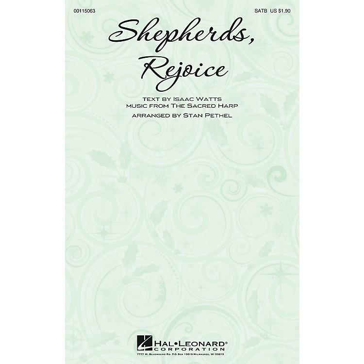 Hal LeonardShepherds, Rejoice SATB arranged by Stan Pethel
