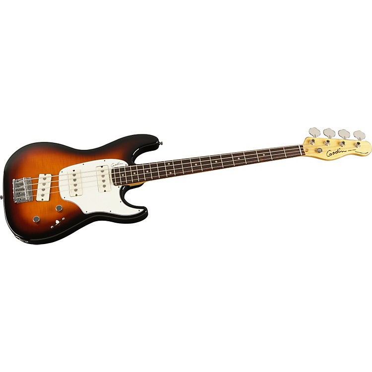 GodinShifter Electric Bass GuitarVintage BurstRosewood Fretboard