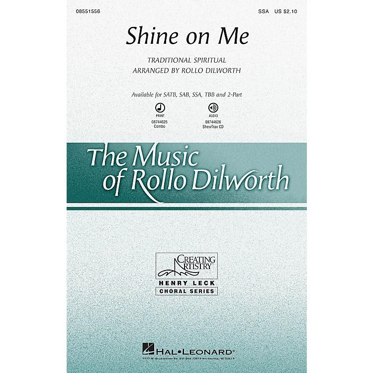 Hal LeonardShine on Me 2-Part Arranged by Rollo Dilworth