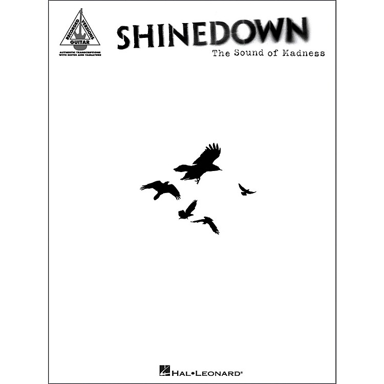 Hal LeonardShinedown - The Sound of Madness (Guitar Tablature Songbook)