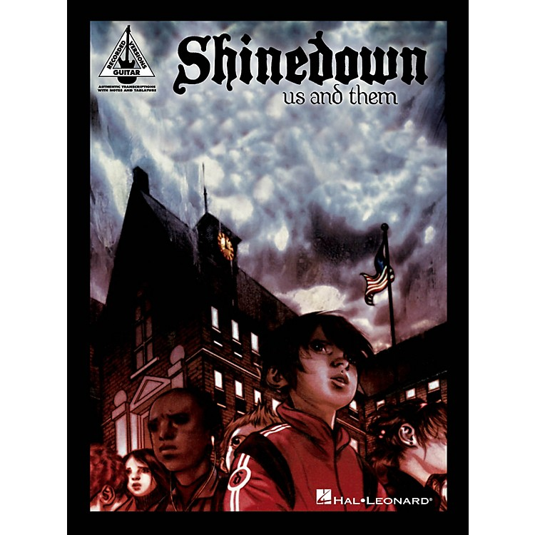 Hal LeonardShinedown - Us and Them Guitar Recorded Version Series Softcover Performed by Shinedown