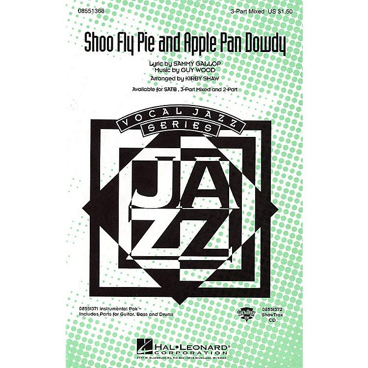 Hal LeonardShoo Fly Pie and Apple Pan Dowdy SATB Arranged by Kirby Shaw
