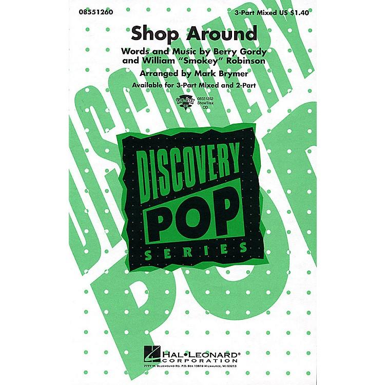 Hal LeonardShop Around 3-Part Mixed arranged by Mark Brymer