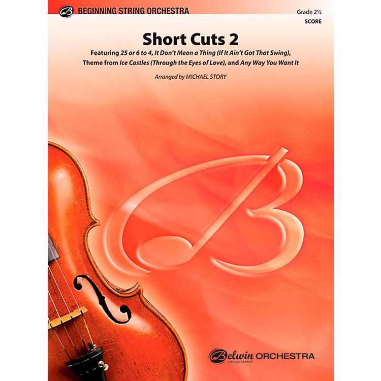 Alfred Short Cuts 2 String Orchestra Level 2.5 Set