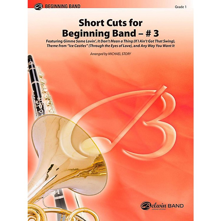 AlfredShort Cuts for Beginning Band #3 Concert Band Level 1 Set
