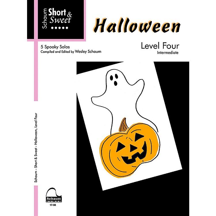SCHAUMShort & Sweet Halloween, Level Four Intermediate
