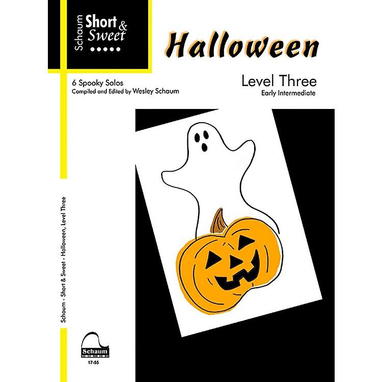 SCHAUMShort & Sweet Halloween, Level Three Early Intermediate