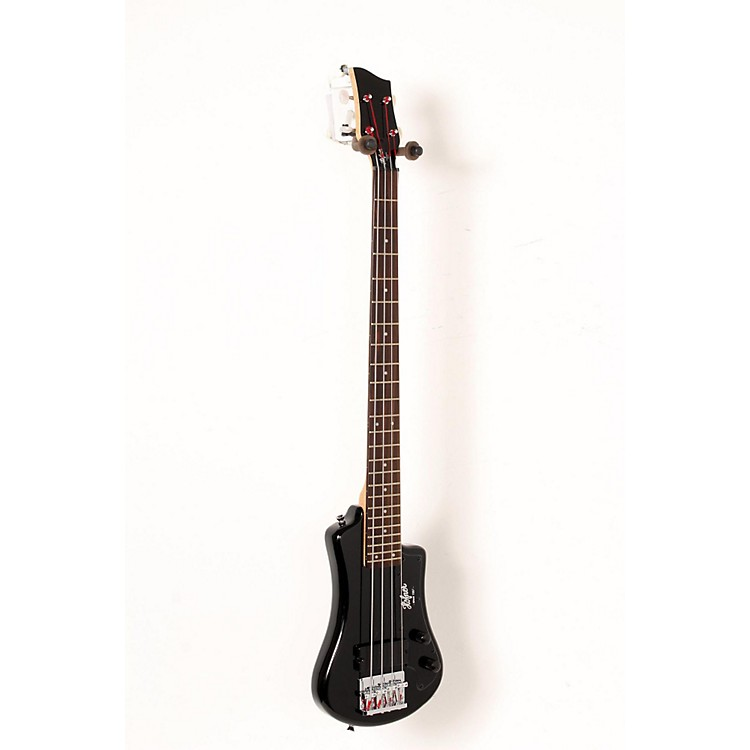 Hofner Shorty Electric Bass Black 888365905150