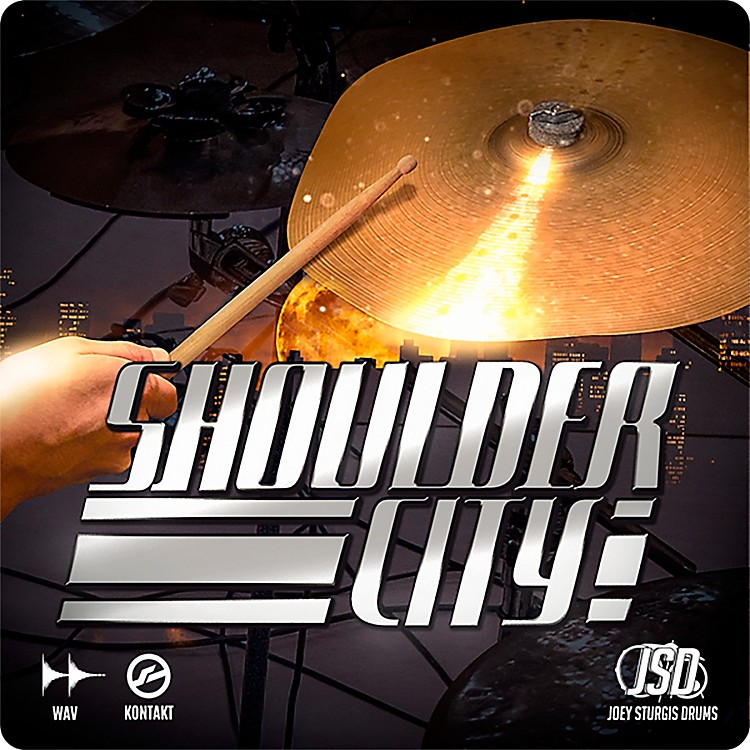 Joey Sturgis DrumsShoulder City Complete