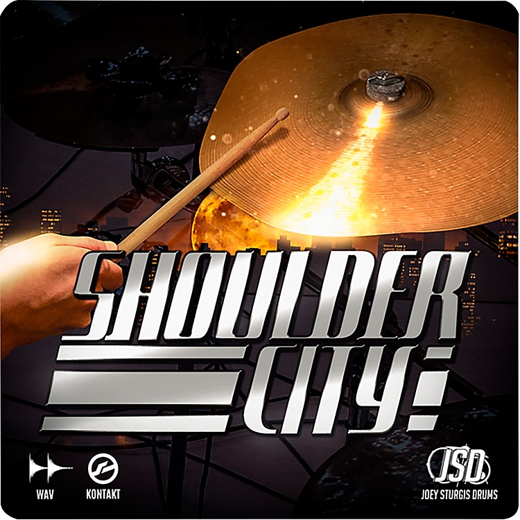 Joey Sturgis DrumsShoulder City Cymbals