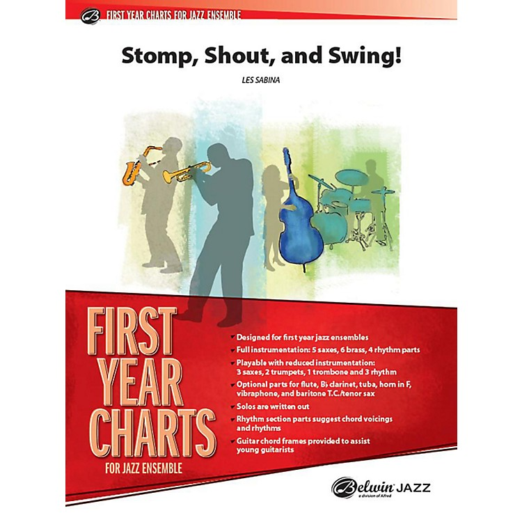Alfred Shout, Stomp, and Swing! Jazz Band Grade 1 Set