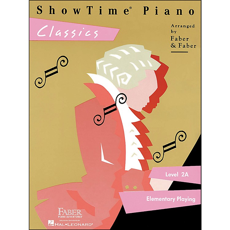 Faber Piano Adventures Showtime Piano Classics Level 2A Elementary Playing - Faber Piano