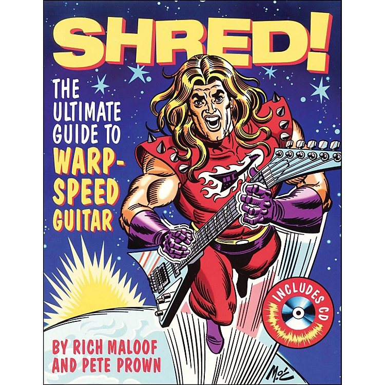 Backbeat Books Shred - The Ultimate Guide To Warp Speed Guitar Book/CD